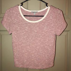 Pink crop top - xsmall